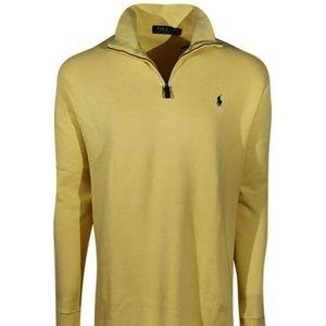 Polo Ralph Lauren Men's Half-Zip Pima Cotton Sweat